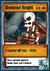 Skeleton Knight Card
