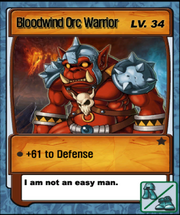 Lvl 34 - Blood Orc Warrior