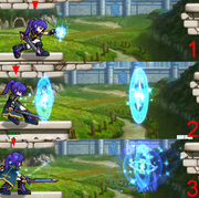 Spell Knight Magic Dash Attack
