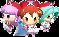 Nana, Saki and Mio PK