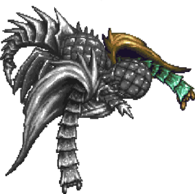 Baal (3) Gaia Tentacle Left