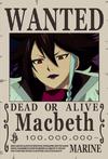 Macbeth-Wanted