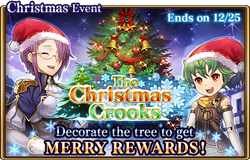 The Christmas Crooks Banner
