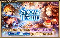 Snow Faire Banner