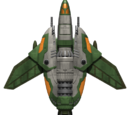 Tribe Dove Fighter Hull