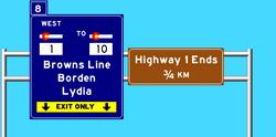 Highway 1 Westbound 4
