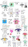 Emmy Cicierega Sweaters Sketches