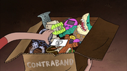 S2e1 all that contraband