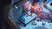 S1e5 dipper lying awake on bed