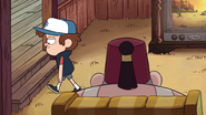 S1e19 Dipper does the walk of shame