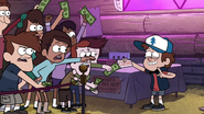 S1e7 dipper closes booth