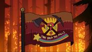 S2e20 take back the falls flag