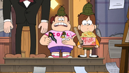 S2e13 grenda sees the graph paper