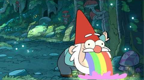 S1e1 gnome puking rainbows