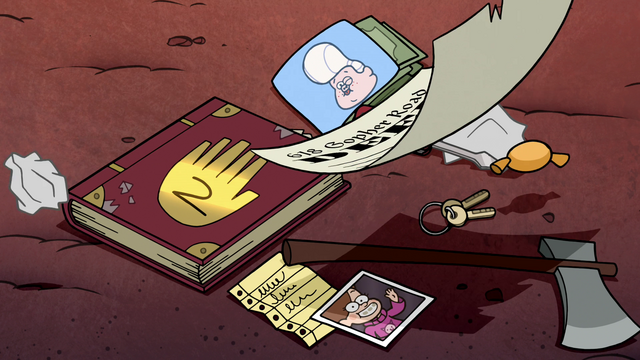 File:S1e20 Gideons brickabrack book and deed.png
