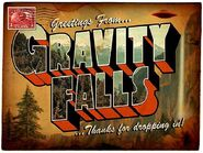 Gravity falls title card concept