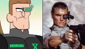 S1e9 time cop vs universal soldier