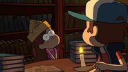 S1e8 mabel with hat