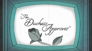 S1e5 the duchess approves 3