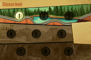 Game mystery tour ride nine levels