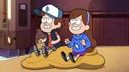 S1e14 Dipper and Mabel Cheer