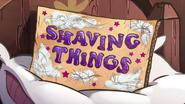 Short10 shaving things