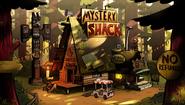 S2e12 mystery shack through the years5