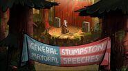 S2e14 general stump speech