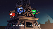 S2e3 i don't know any french