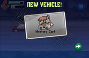 New vehicle mystery cart