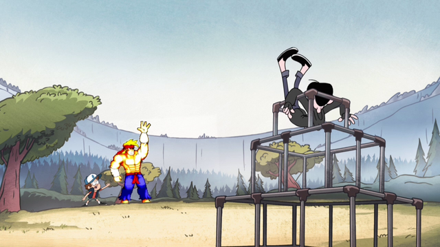File:S1e10 robbie lands on jungle gym.png