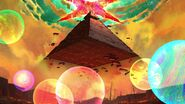 Opening pyramide