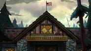 S2e4 gravity falls library