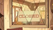 S2e15 - closed sign