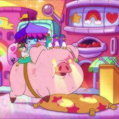 Остановка для свиней
