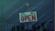 S1e5 open sign