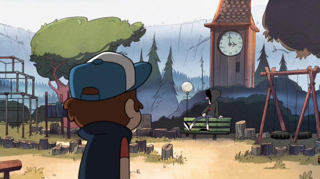 File:S1e10 dipper and robbie at park.png