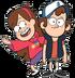 Dipper and Mabel render