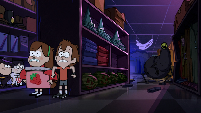 File:S1e12 mabel and dipper hide.png