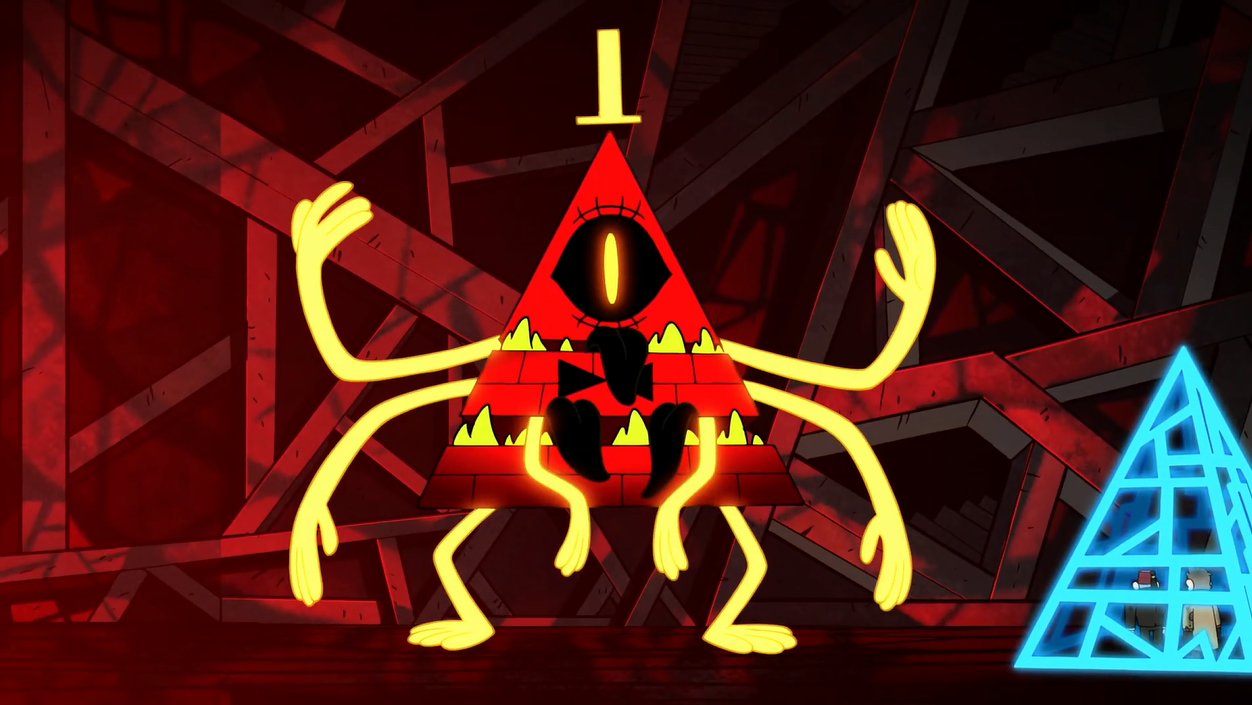 Imagen S2e20 Bill Demon Form Png Gravity Falls Wiki