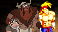 S2e20 Grenda manotaur and Rumble