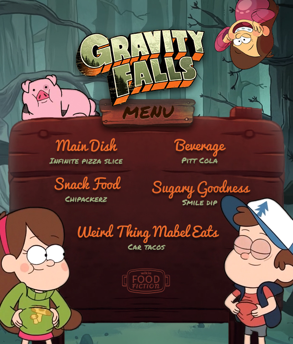 FF Gravity Falls Menu R1