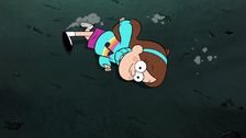 S1e5 mabel running on ground