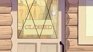 S1e18 closed sign