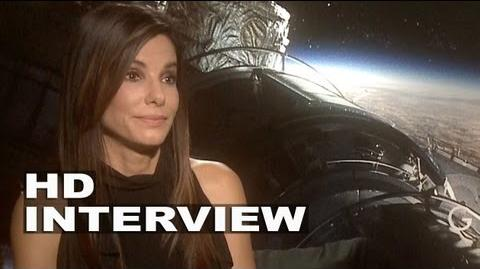 Sandra Bullock Gravity interview
