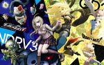Danganronpa V3 x Gravity Rush Wallpaper