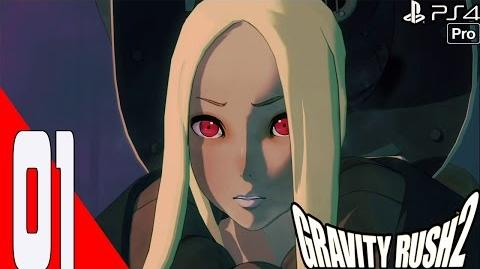 Gravity Rush 2 - Walkthrough Part 1 Chapter 1 Banga Settlement - Prologue