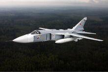 Sukhoi Su-24 inflight Mishin-3