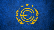 Fallout flag of the european commonwealth by okiir-d8x1geq
