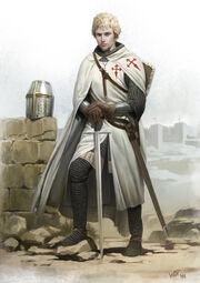 Estevao - knight of santiago by wraithdt-d3alv1h